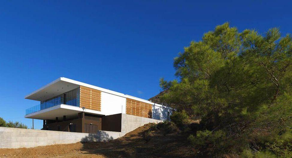 Уникальный дизайн дома. Zephyros Villa на Кипре