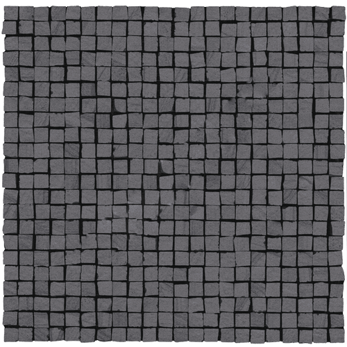 Керамогранит ABK Re-work Mosaico Opus Micro Single 3 Black Rett 30x30