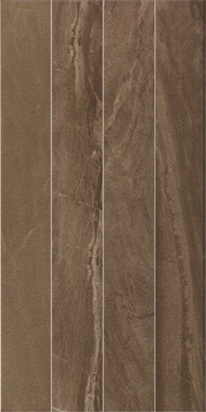 Lines Decor Brown Parlak Glossy