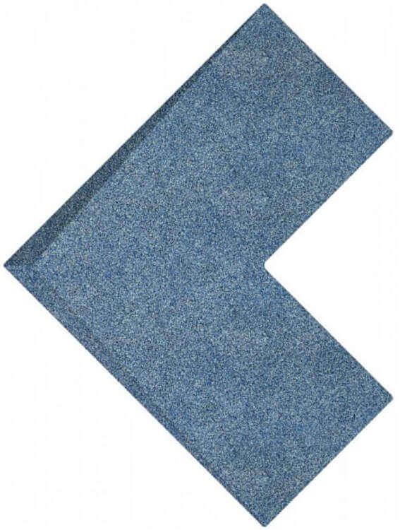 Плитка Керамогранит WOW BOHO ELLE BLUE RAKU 20x20 - 1